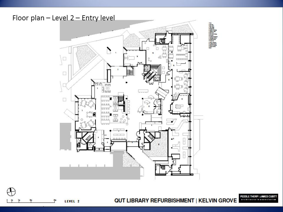 Floor plan – Level 2 – Entry level