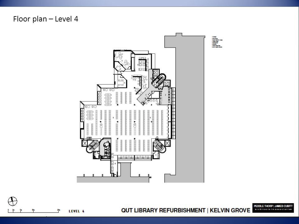 Floor plan – Level 4
