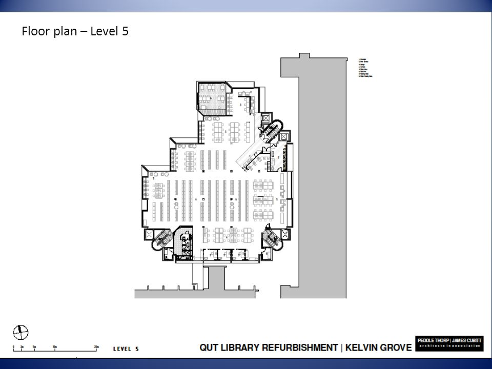 Floor plan – Level 5