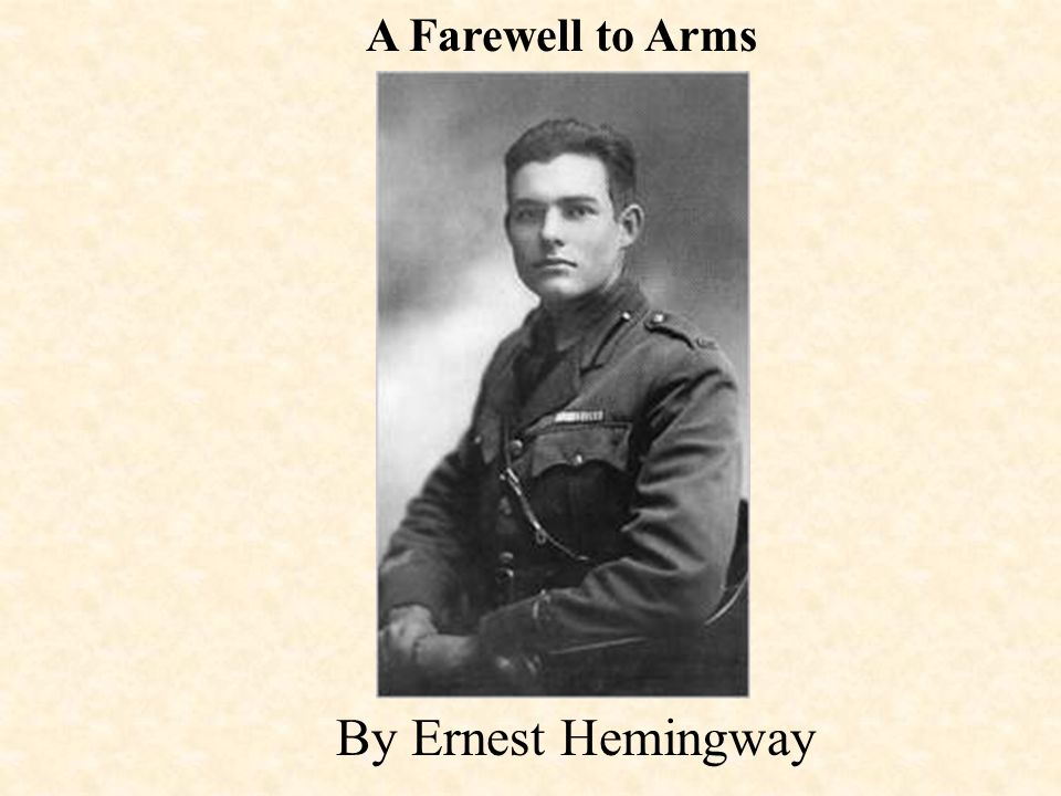 literary analysis of the love story a farewell to arms by ernest hemingway A farewell to arms is a novel by ernest hemingway set during the italian campaign of world war i the book, published in 1929, is a first-person account of american frederic henry, serving as a lieutenant (tenente) in the ambulance corps of the italian army.