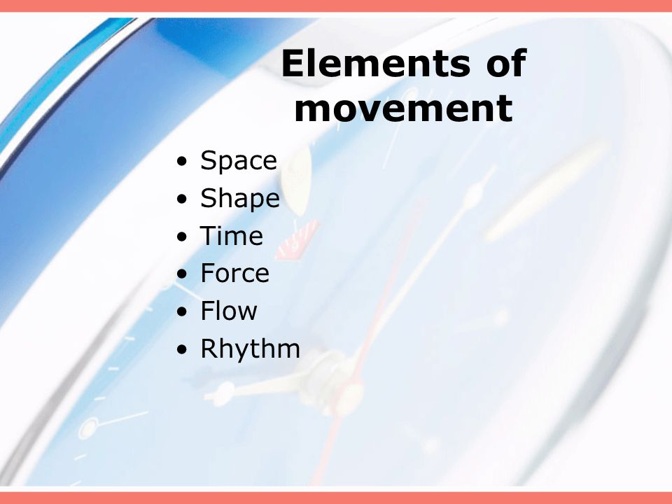 Elements Of Movement : Activities for children grades k ppt download