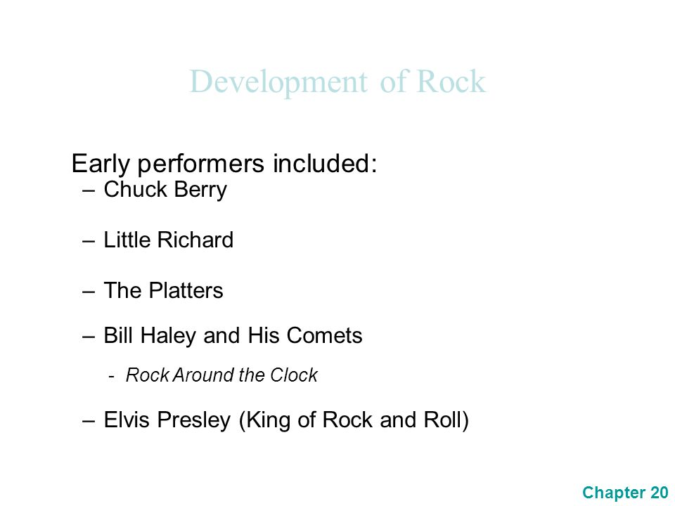 the development of the rock musical A website dedicated to jazz fusion and related  the development of jazz-rock was carried  achieving a greater degree of musical.