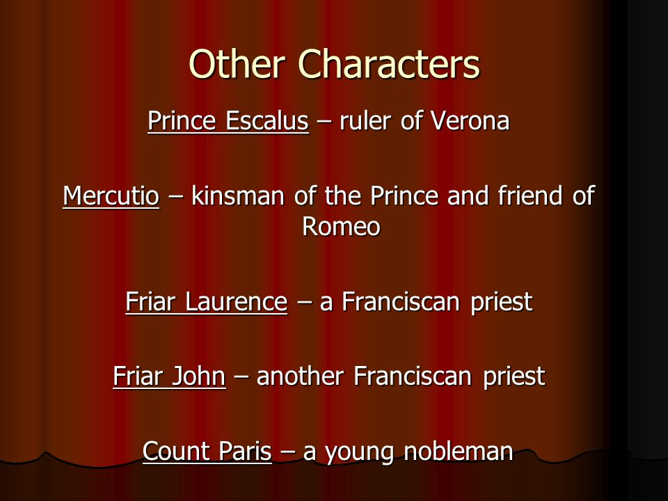 an introduction to the importance of friar lawrence An introduction to the importance of friar lawrence pages 1 words 747 view full essay more essays like this: romeo and juliet, friar laurence, fictional character not sure what i'd do without @kibin - alfredo alvarez, student @ miami university exactly what i needed - jenna kraig, student @ ucla.