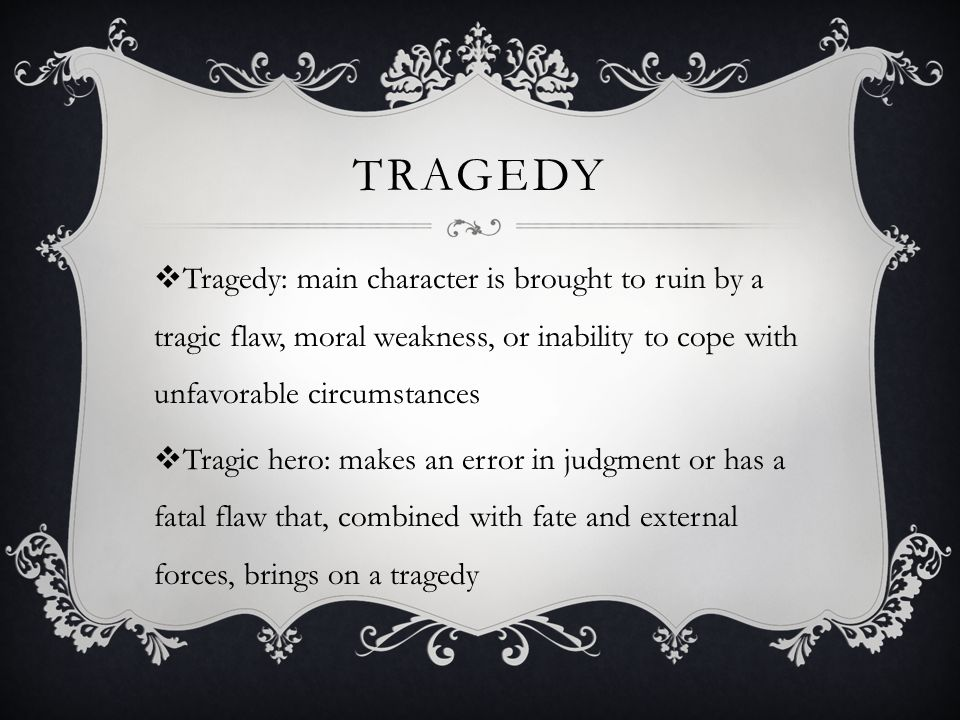 hamlets fatal flaw A tragic flaw is the failing of a tragic hero, a character who suffers a downfall through the tragic flaw in mistaken choices or in personality hamlet's tragic flaw is his inability to act to .
