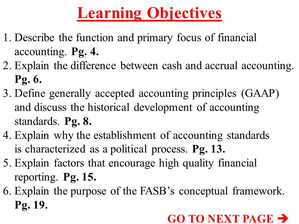 the function and primary focus of financial accounting Raised at its september 2014 quality financial reporting event  what is the  role of stakeholders 10  the desired approach is to focus on identifying  material.