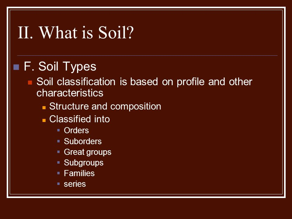 Soil resources and sustainable agriculture ppt video for What is rich soil called