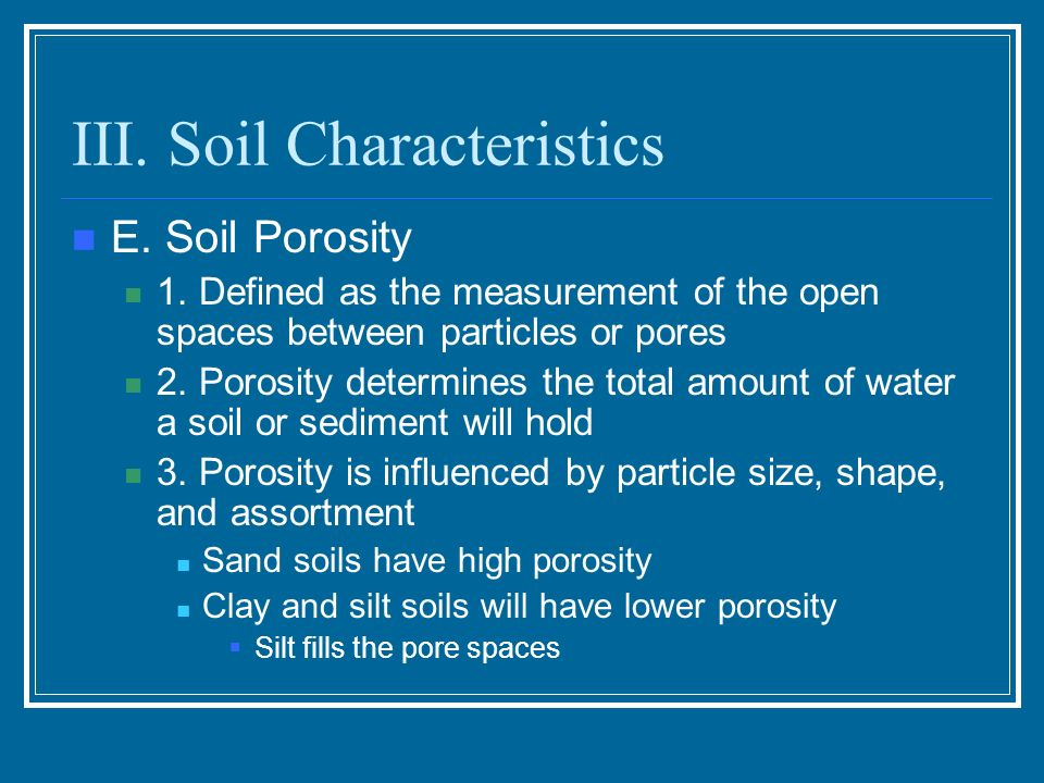 Soil resources and sustainable agriculture ppt video for What are soil characteristics