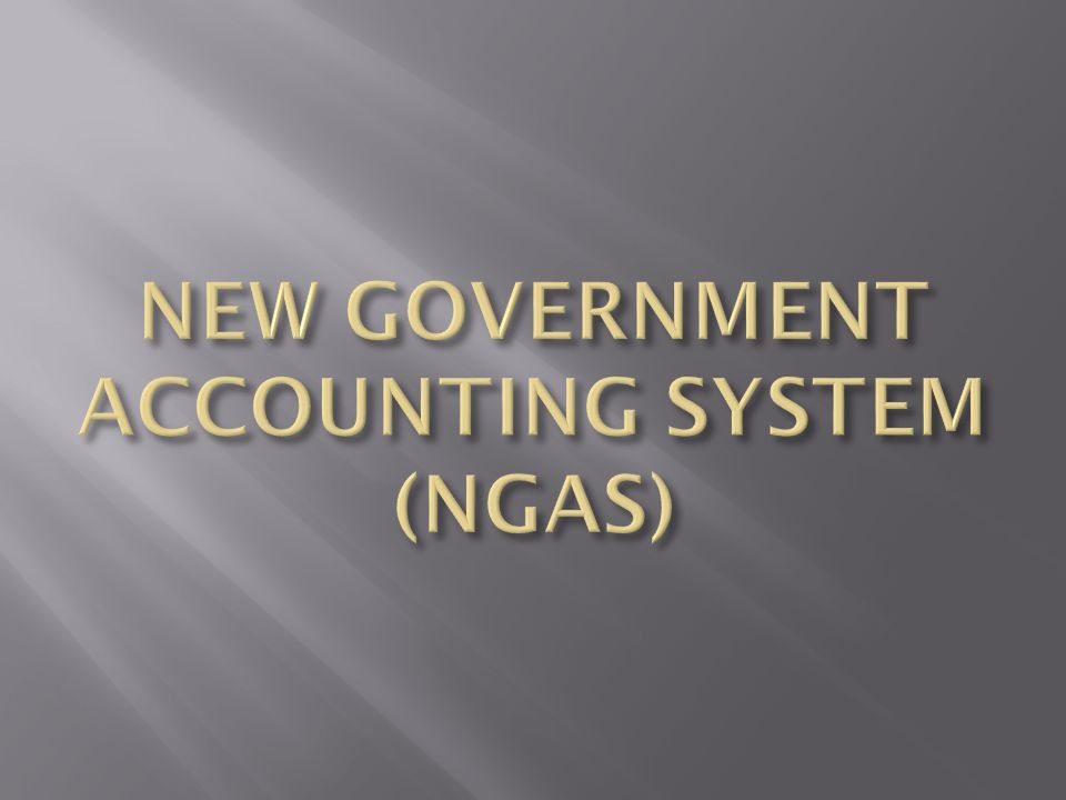 """local government accounting system An appraisal of local government finances and accounting system - """"the third level of government is the local government state governments."""