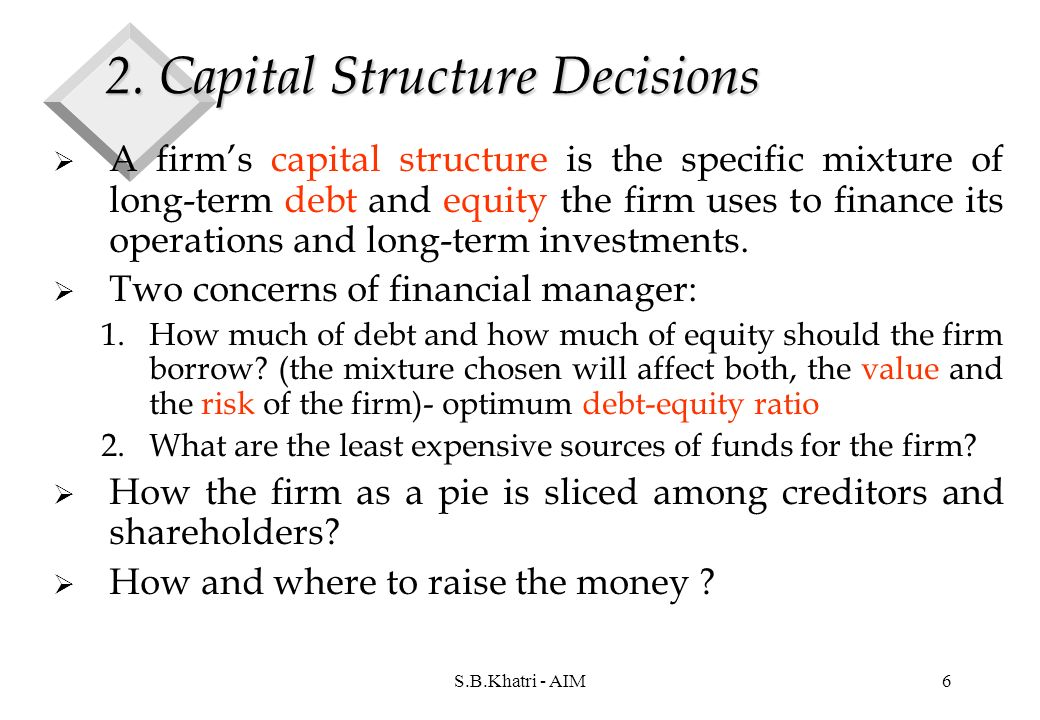 capital structure decision of small and Erage of capital structure of small and medium sized enterprises (smes)   quantifiable) is not applicable to the capital structure decisions for a.