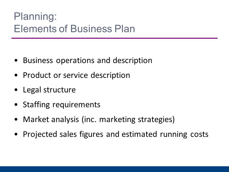 What Are the Six Elements of a Business Plan?