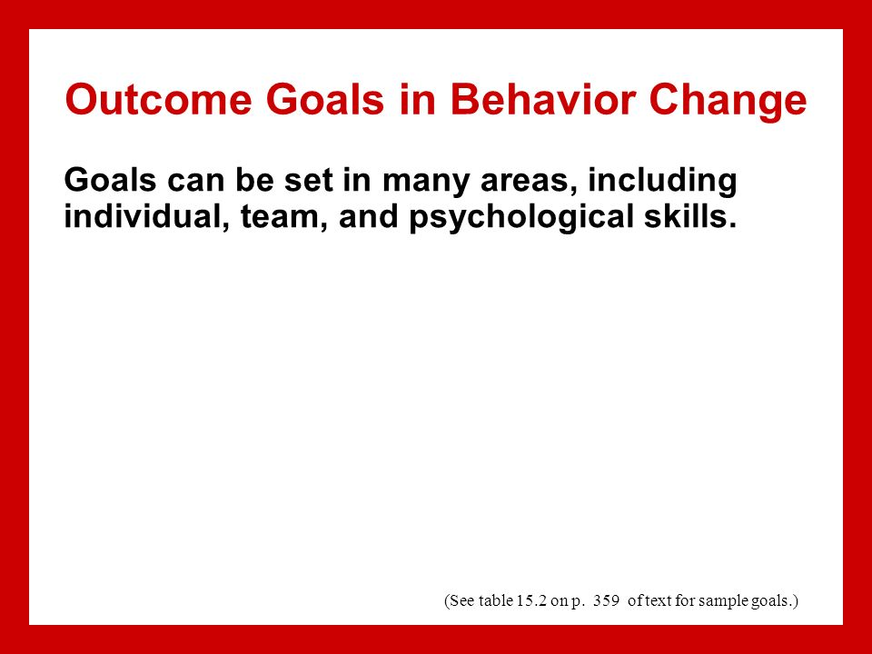 how to set individual goals at work