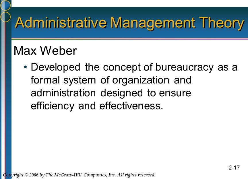 bureaucracy management and position holder