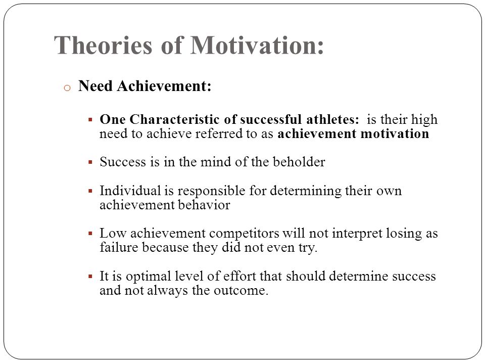 an analysis of what athletes do to achieve higher levels of performance Mental toughness: the psychological skills (techniques) in reaching their optimum performance levels higher the level of success by an athlete the more.