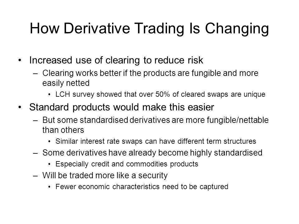 How Derivative Trading Is Changing