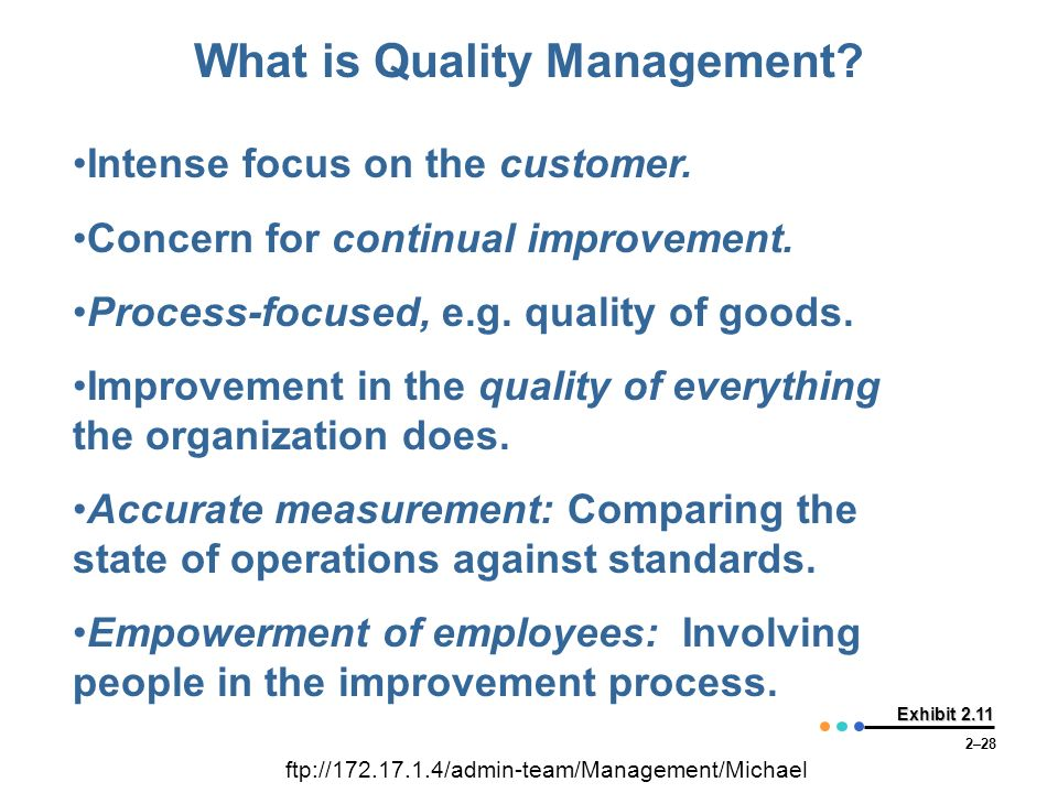 Quality Improvement: Two Ways To Benefit From Actionable Data