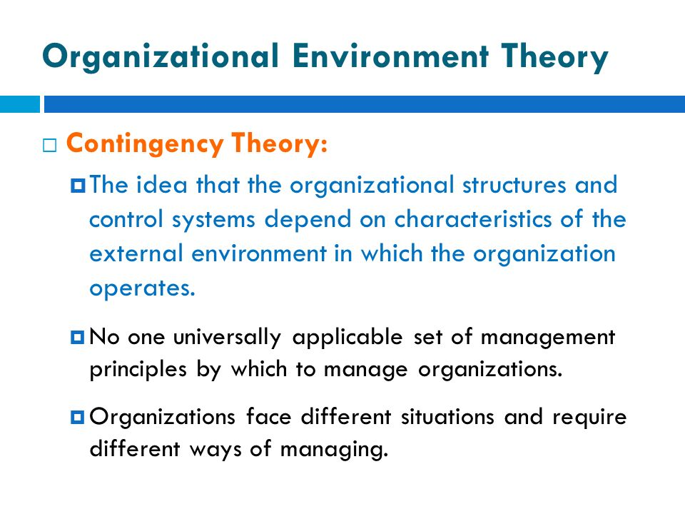 the organizations internal environment management essay Establishing an appropriate internal environment, including a risk management the management of the organization and do not have to provide independent and iia position paper: the role of internal auditing in enterprise-wide risk management.