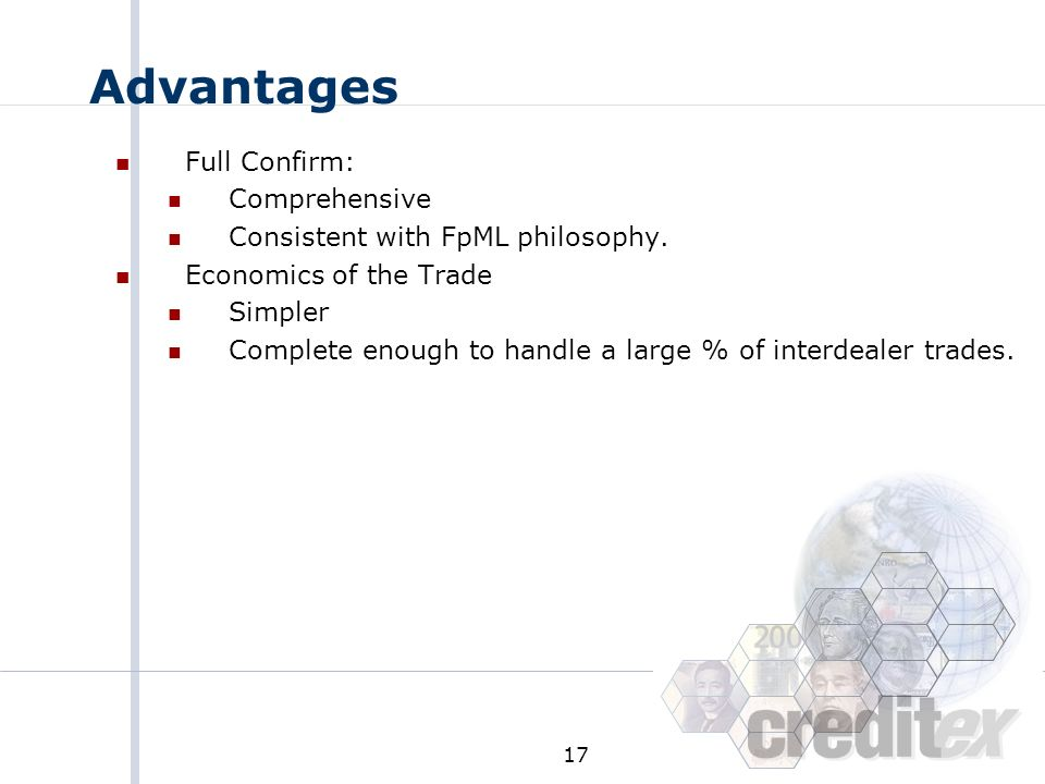 Advantages Full Confirm: Comprehensive