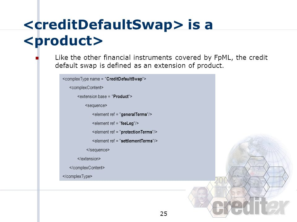 <creditDefaultSwap> is a <product>