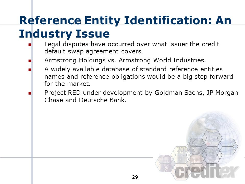 Reference Entity Identification: An Industry Issue