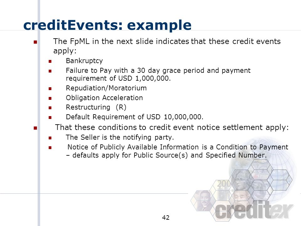 creditEvents: example