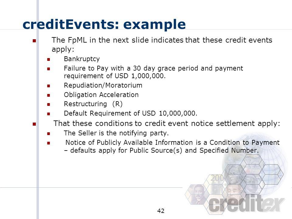 creditEvents: example
