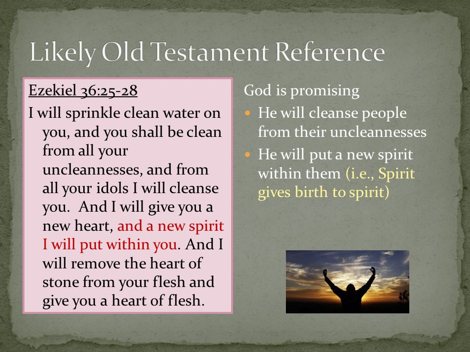 Likely Old Testament Reference