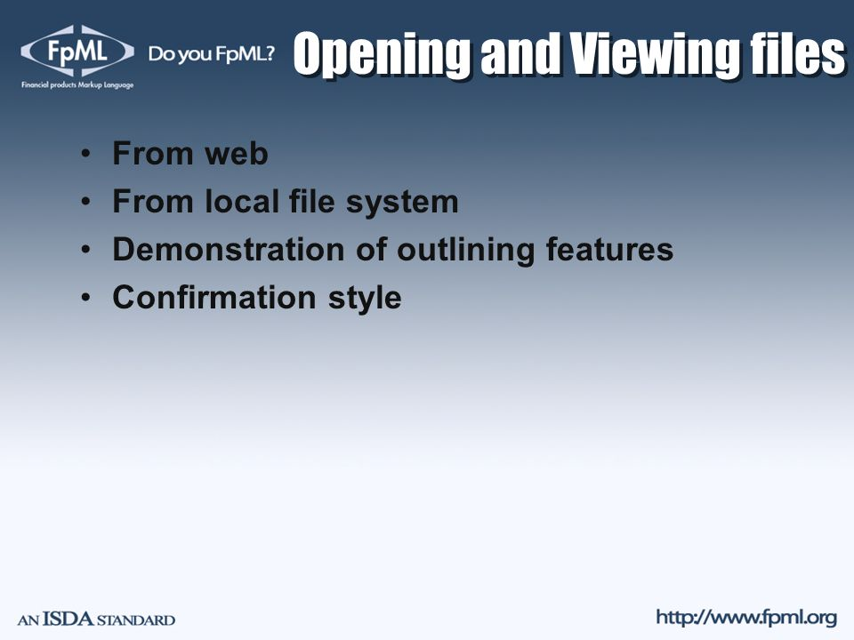 Opening and Viewing files