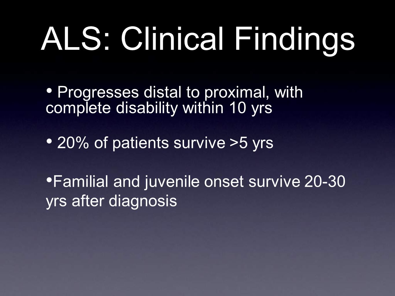 Amyotrophic Lateral Sclerosis - ppt video online download