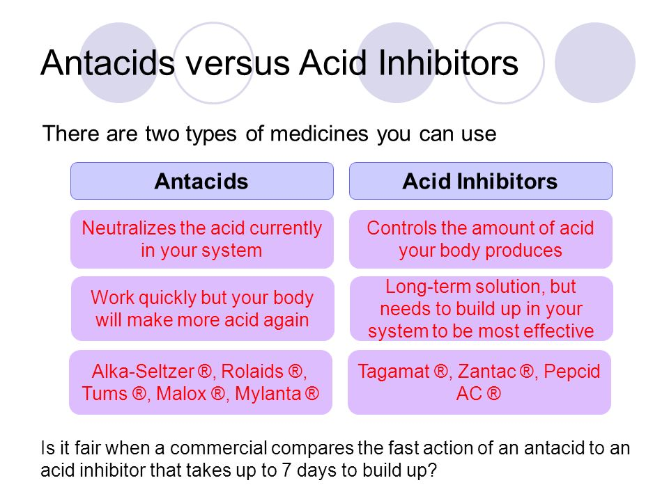 effectiveness of commercial antacids 12 comparison of commercial antacid tablets were analyzed by could be made as to the cost-effectiveness of the various antacids available.