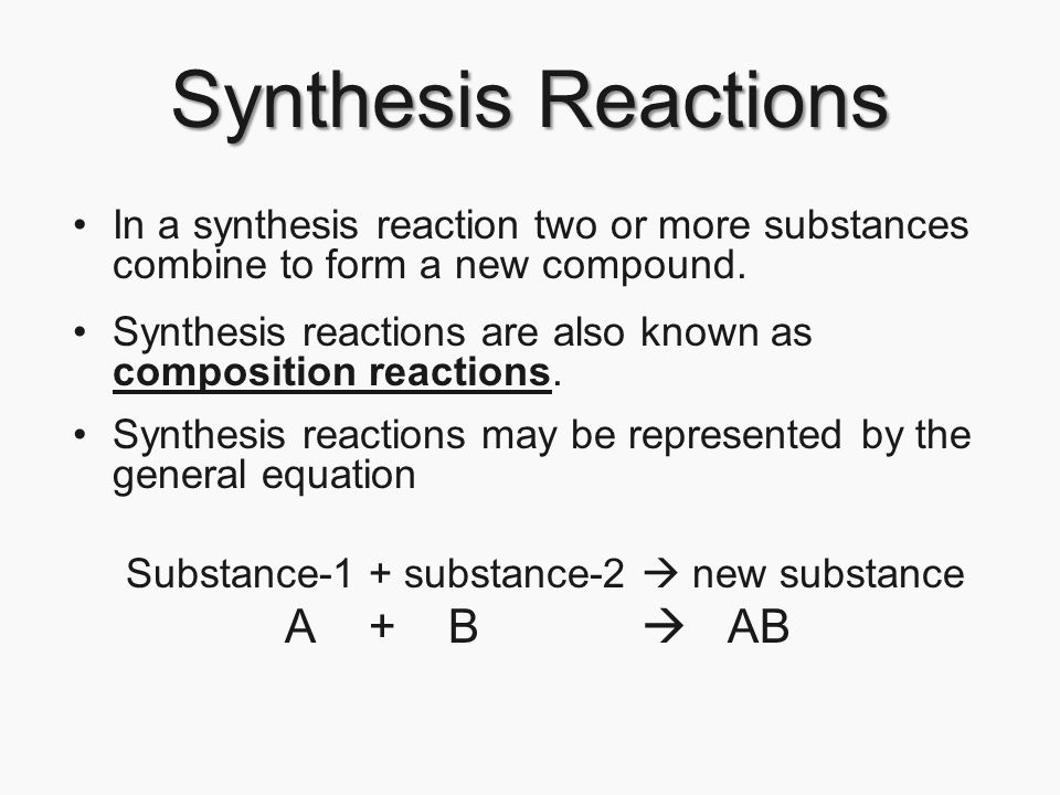 Chapter 21 Chemical Reactions Page ppt download – Synthesis Reactions Worksheet
