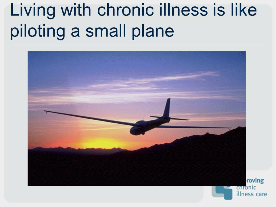 Living with chronic illness is like piloting a small plane