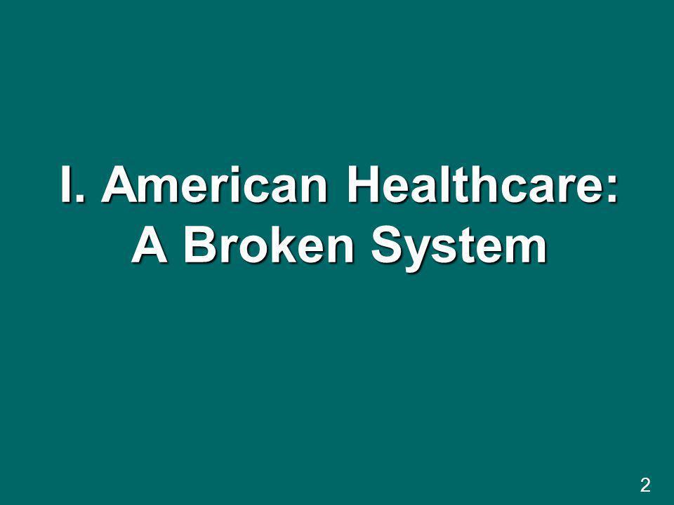 I. American Healthcare: A Broken System