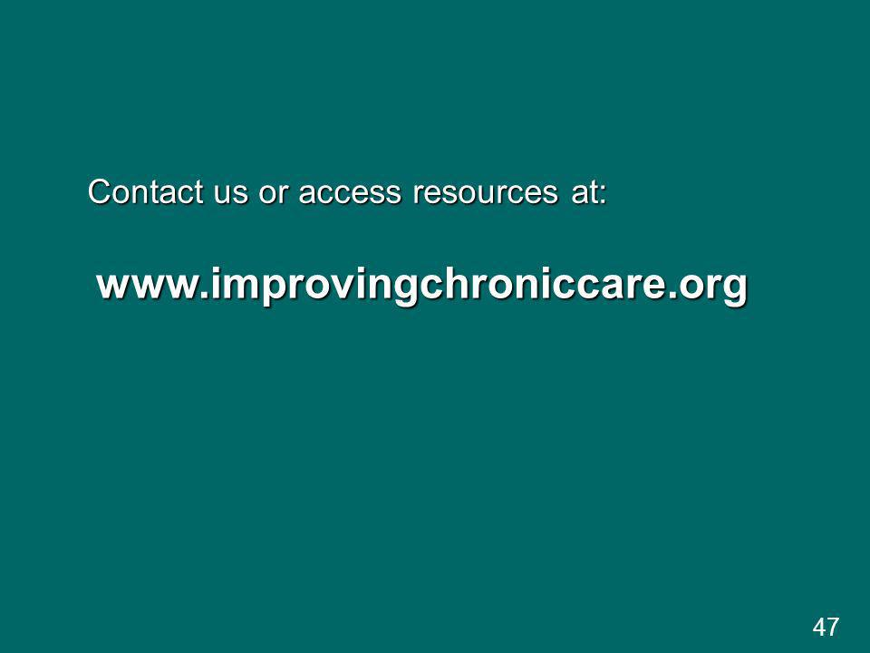Contact us or access resources at: