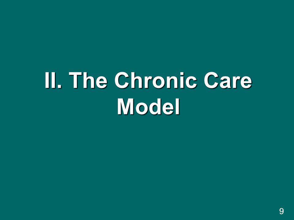 II. The Chronic Care Model