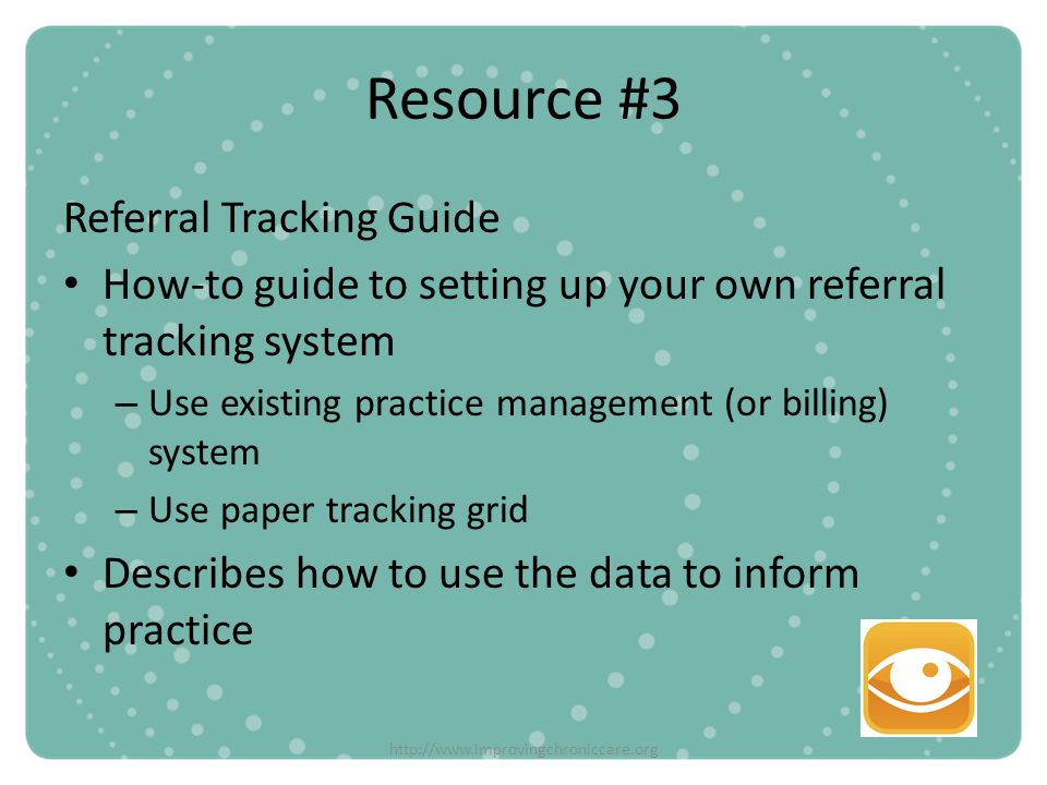 Resource #3 Referral Tracking Guide