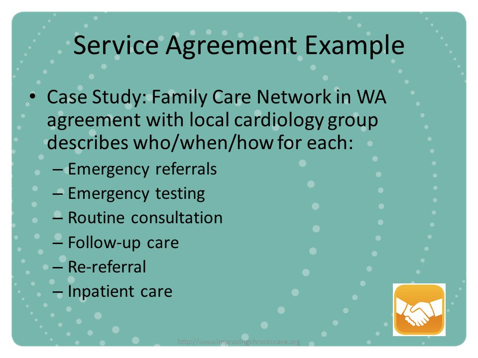 Service Agreement Example