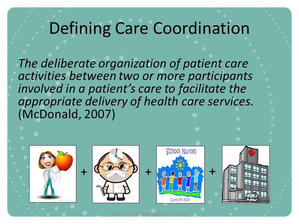 Defining Care Coordination
