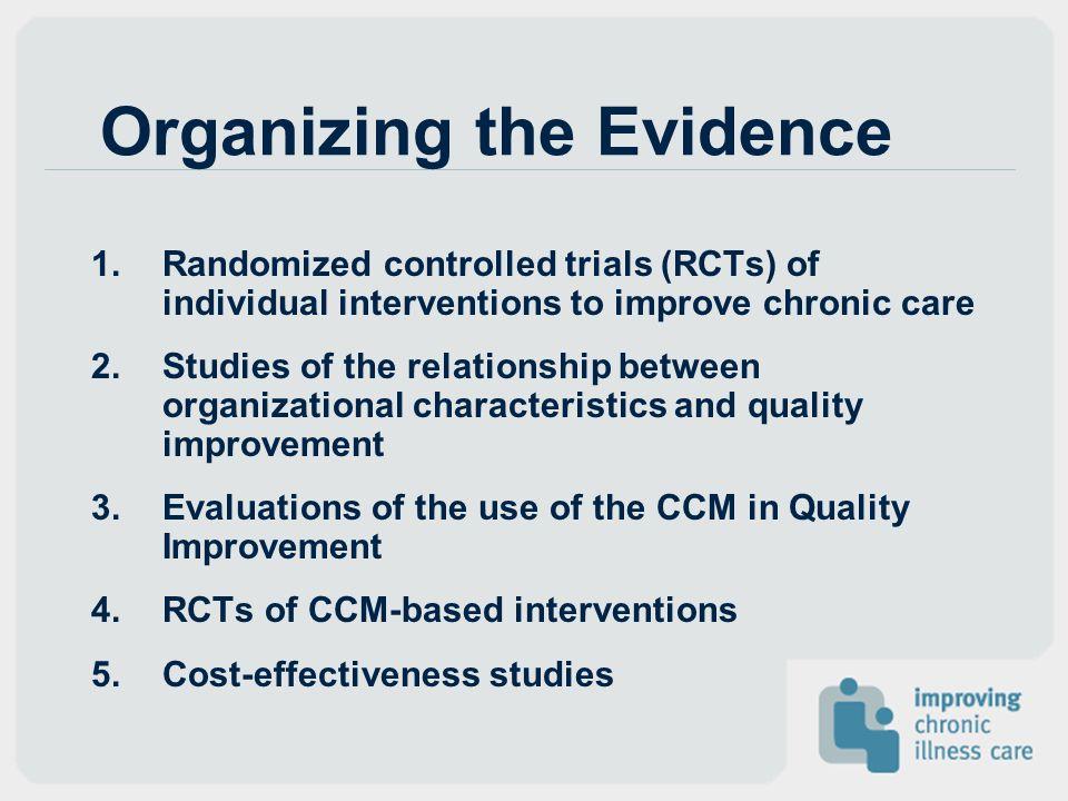 Organizing the Evidence