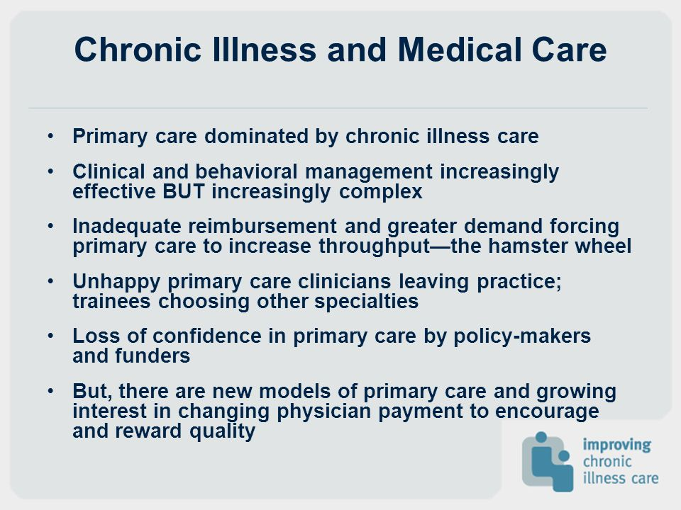 Chronic Illness and Medical Care