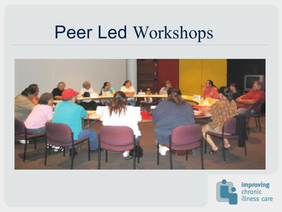 Peer Led Workshops