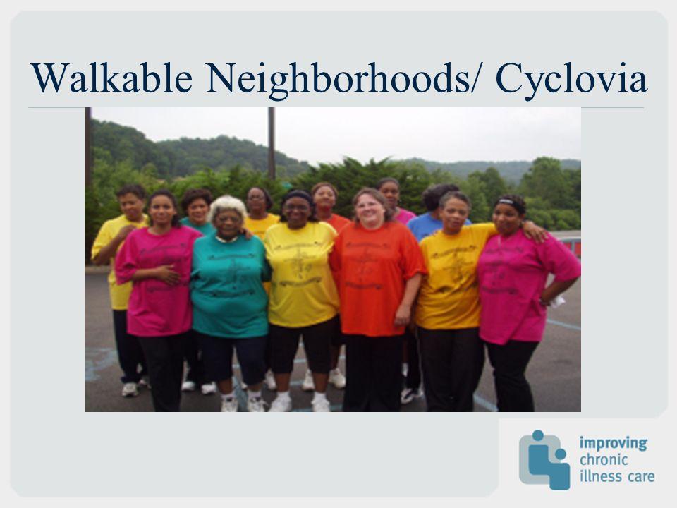 Walkable Neighborhoods/ Cyclovia