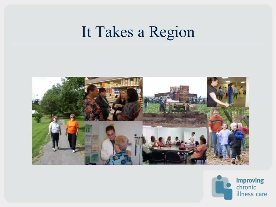It Takes a Region