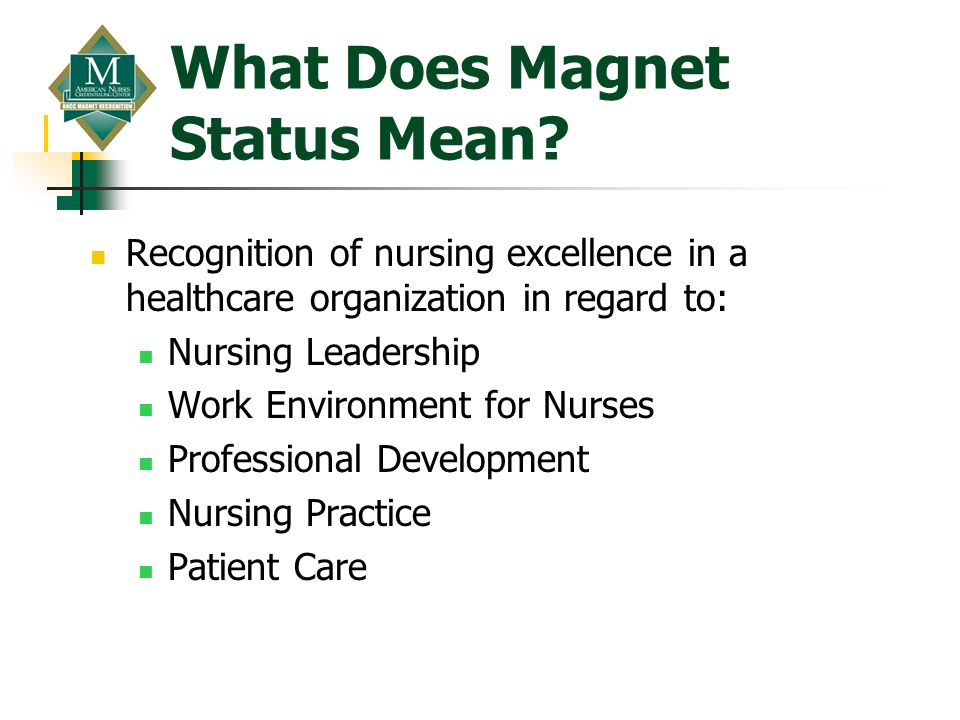What Does Magnet Status Mean