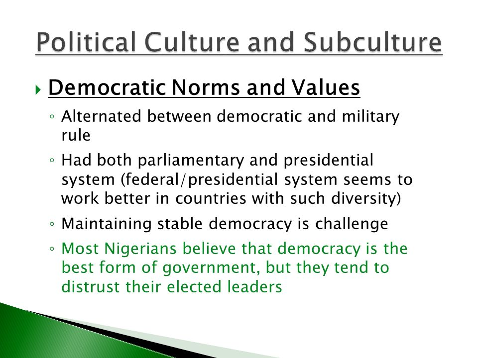 The democratic political system as the best system of government