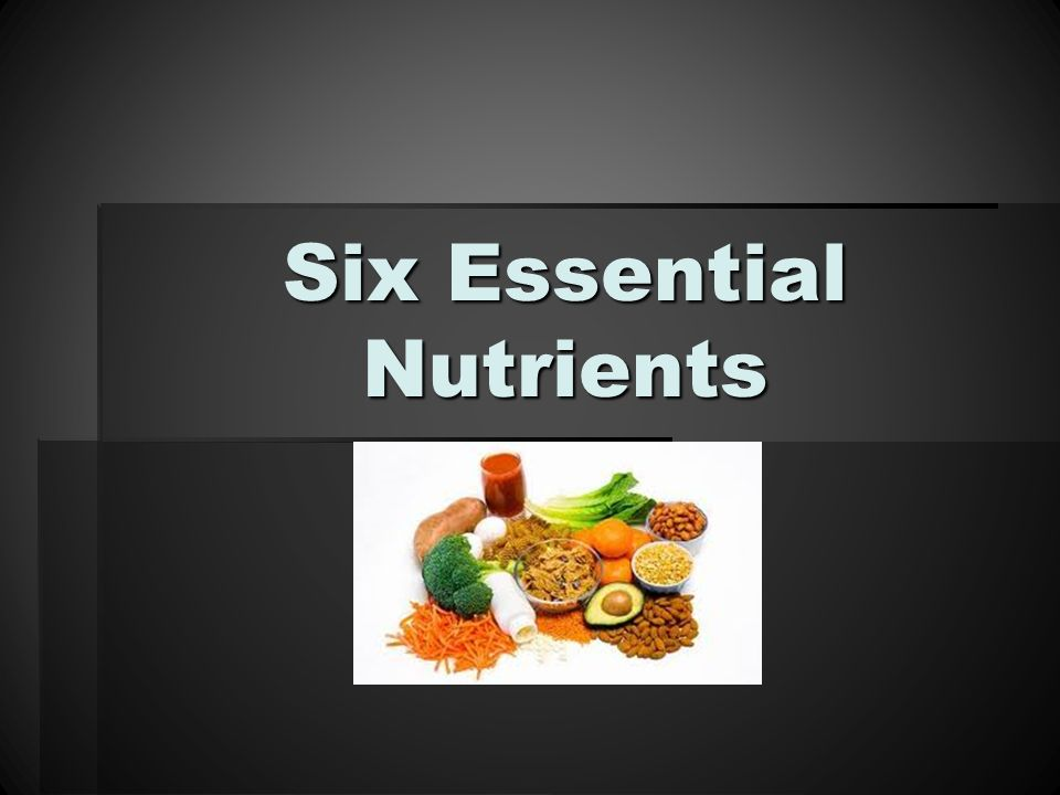 six major classes of nutrients The six classes of nutrients found in foods are carbohydrates, lipids (mostly fats and oils), proteins, vitamins, minerals, and water carbohydrates, lipids, and proteins constitute the bulk of the diet, amounting together to about 500 grams (just over one pound) per day in.
