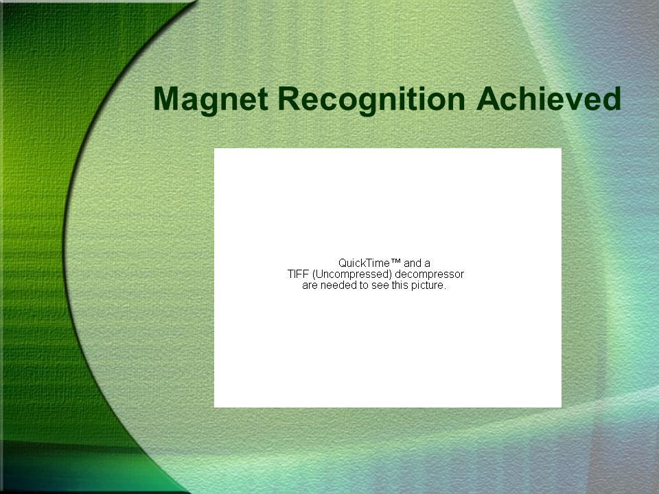 Magnet Recognition Achieved