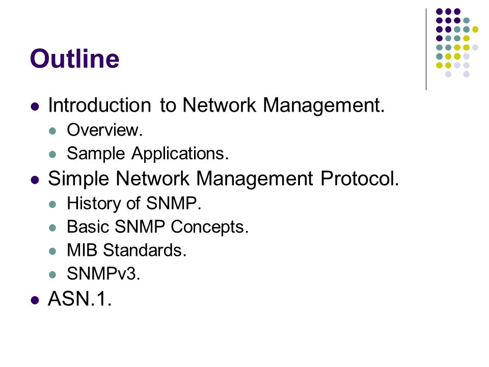 Simple network management protocol snmp for mib Coursework