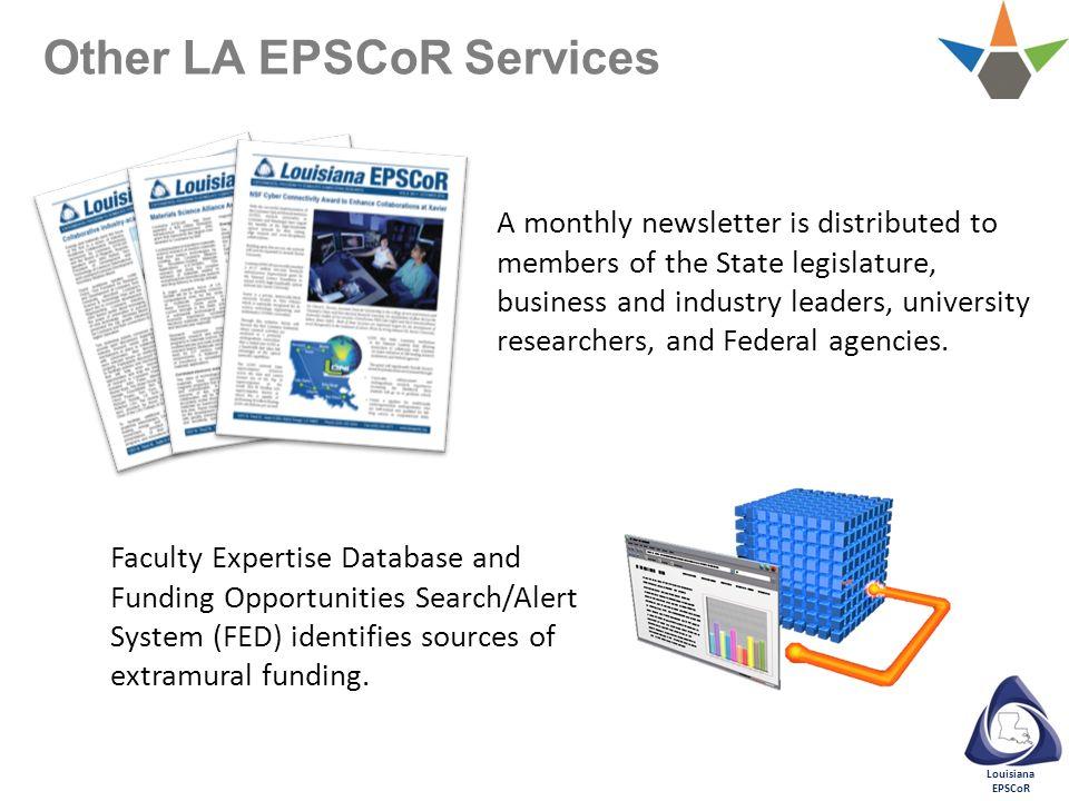 Other LA EPSCoR Services