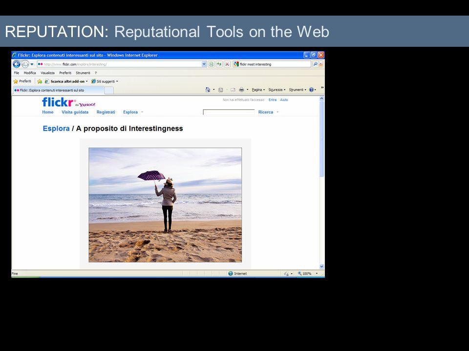 REPUTATION: Reputational Tools on the Web