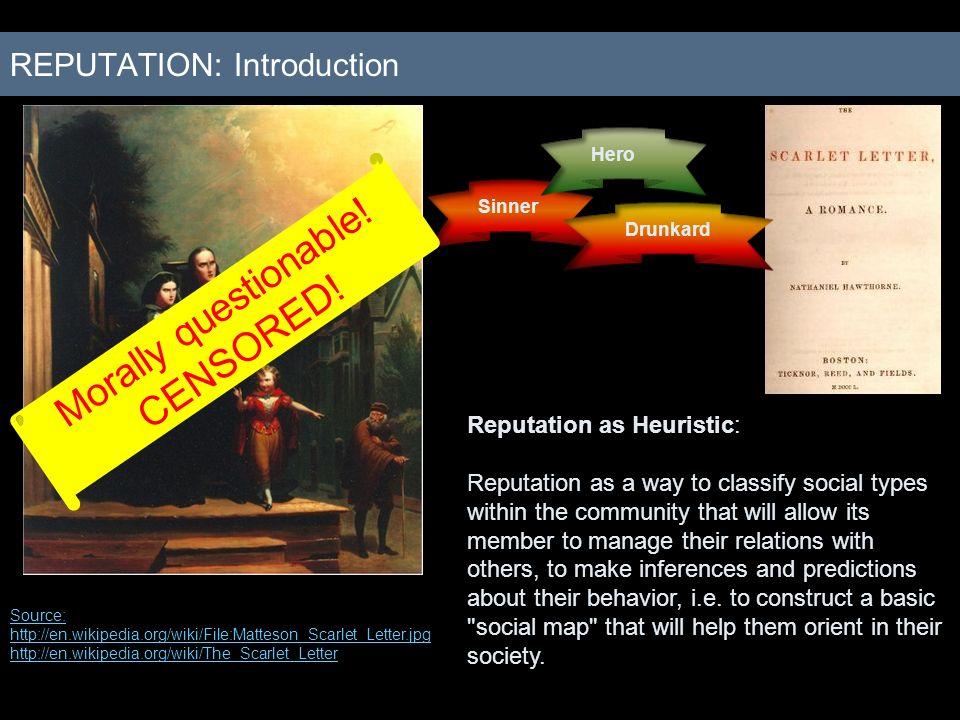 REPUTATION: Introduction
